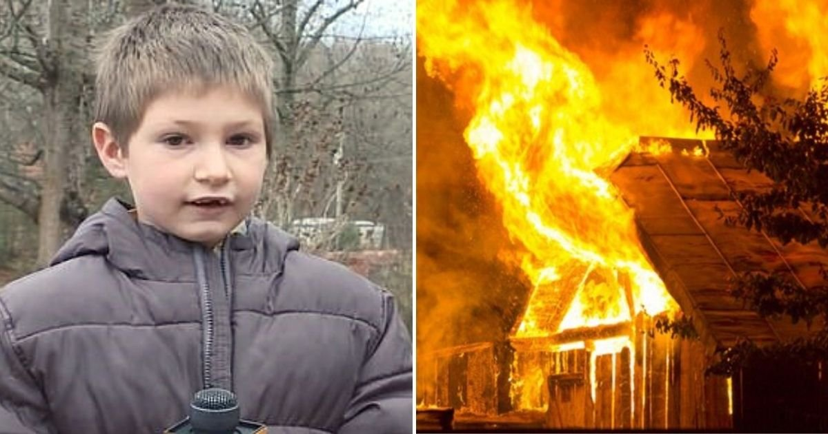 eli6.jpg?resize=1200,630 - 'I Didn't Want My Sister To Die' Young Boy Hailed A Hero After He Saved His Little Sister From Their Burning Home