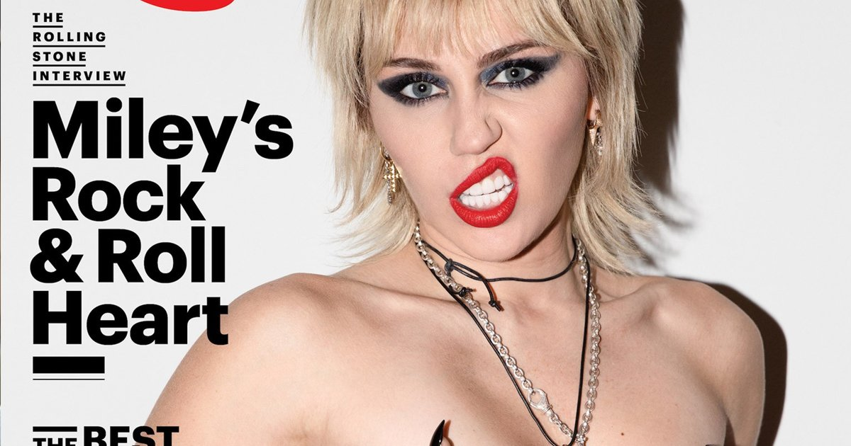 erererrrr.jpg?resize=412,232 - Miley Cyrus Goes 'Topless' For Rolling Stone Cover With Claims Of 'Not Living A Fairytale'