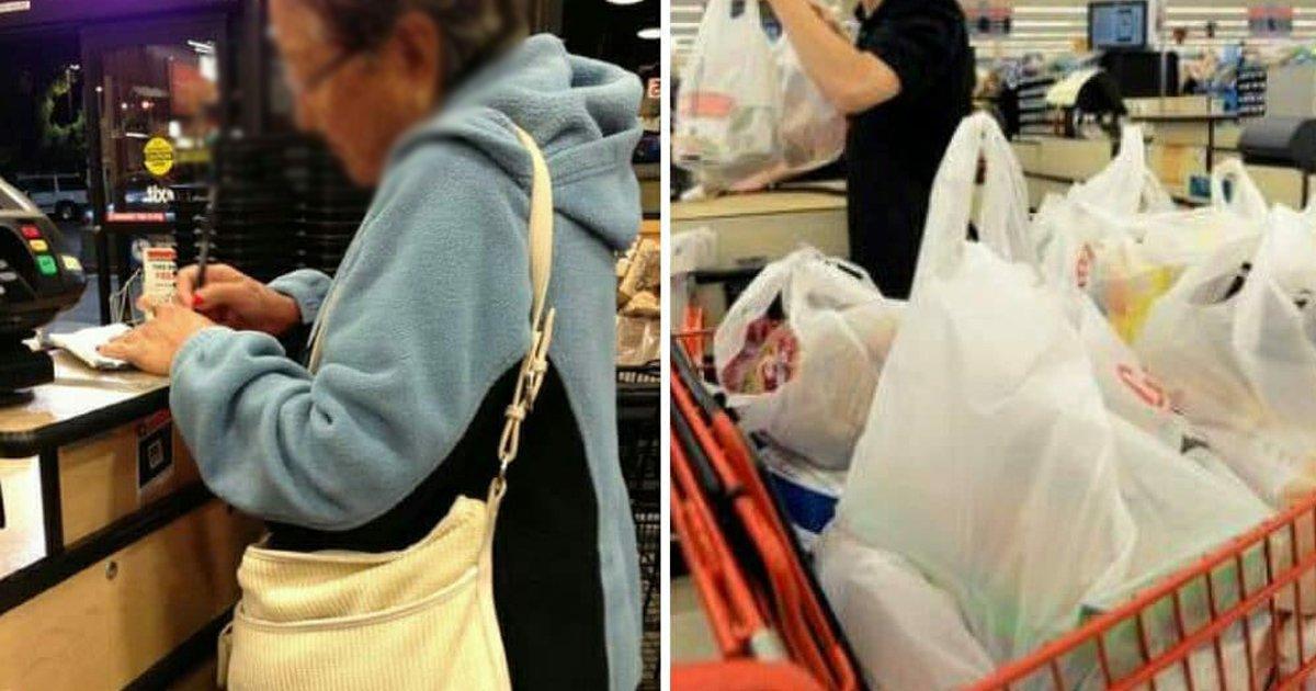 fffffff.jpg?resize=412,232 - Old Woman Stuns Mocking Cashier With Savage Comeback Against Age Shaming