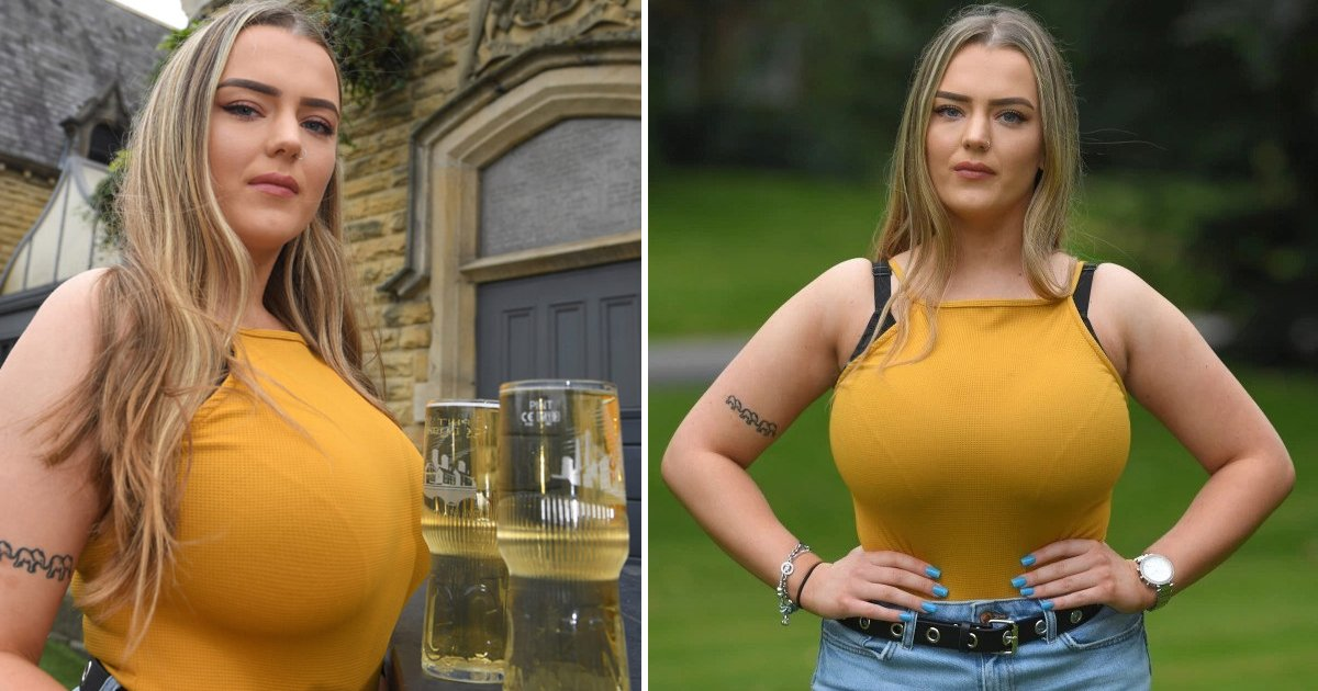 hhdfhdh.jpg?resize=412,232 - Student Fed Up From Giant 34J Breasts Launches Funding Page To Raise Cash For Reduction