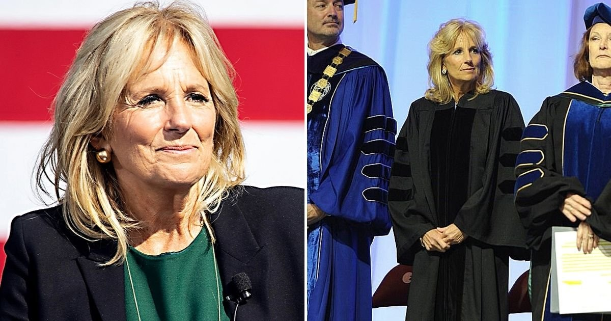 jill6.jpg?resize=1200,630 - Wall Street Journal Op-Ed Sparked Fury After Calling Jill Biden 'Kiddo' And Argued Her Doctor Title 'Sounds And Feels Fraudulent'