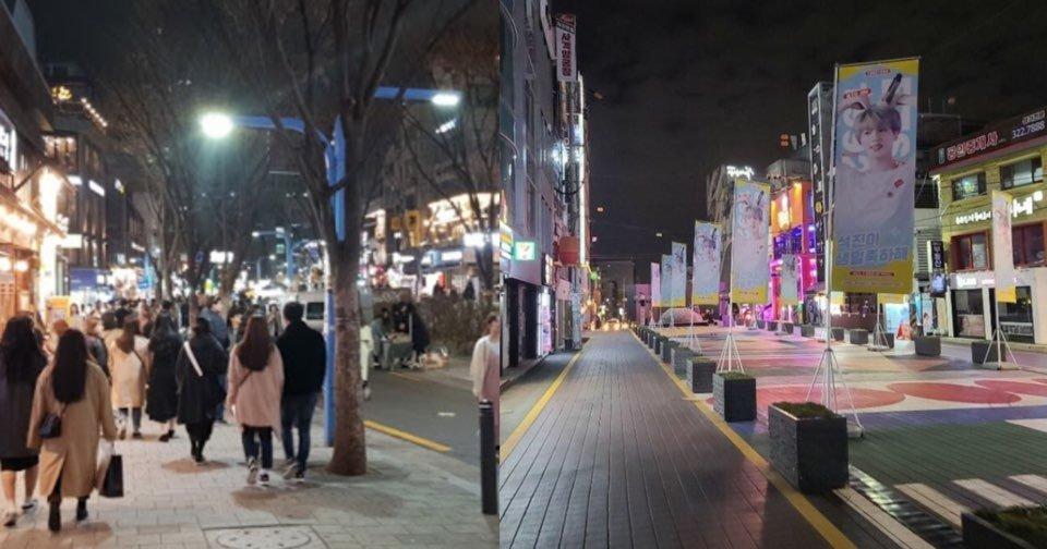 "kakaotalk image 2020 12 05 04 03 12.jpeg?resize=1200,630 - ""어제(4일) 홍대 모습입니다""… 서울 최대 번화가 중 하나인 '홍대'를 실시간으로 찍은 모습.jpg"