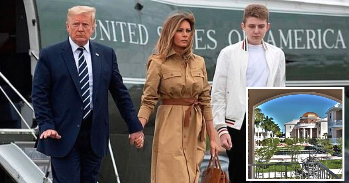 melania5 1.jpg?resize=1200,630 - First Lady Melania Trump Tours Florida School For Son Barron As She Prepares For Life After The White House