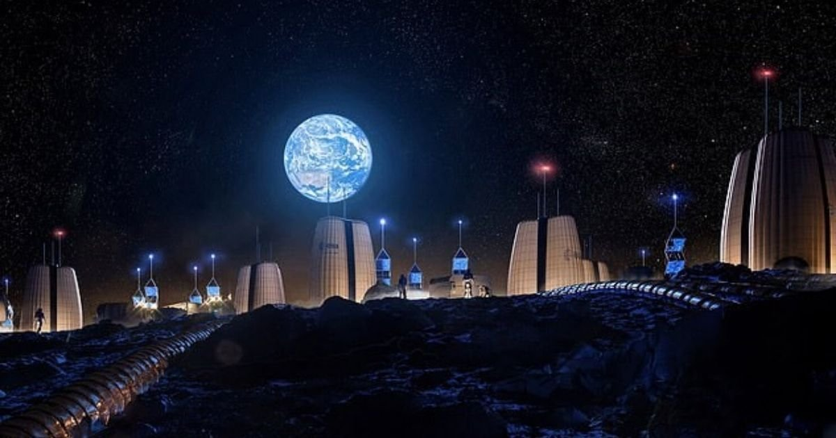 moon4.jpg?resize=1200,630 - 'Moon Village!' New Images Show What Home Could Look Like For First Astronauts Living On The Moon