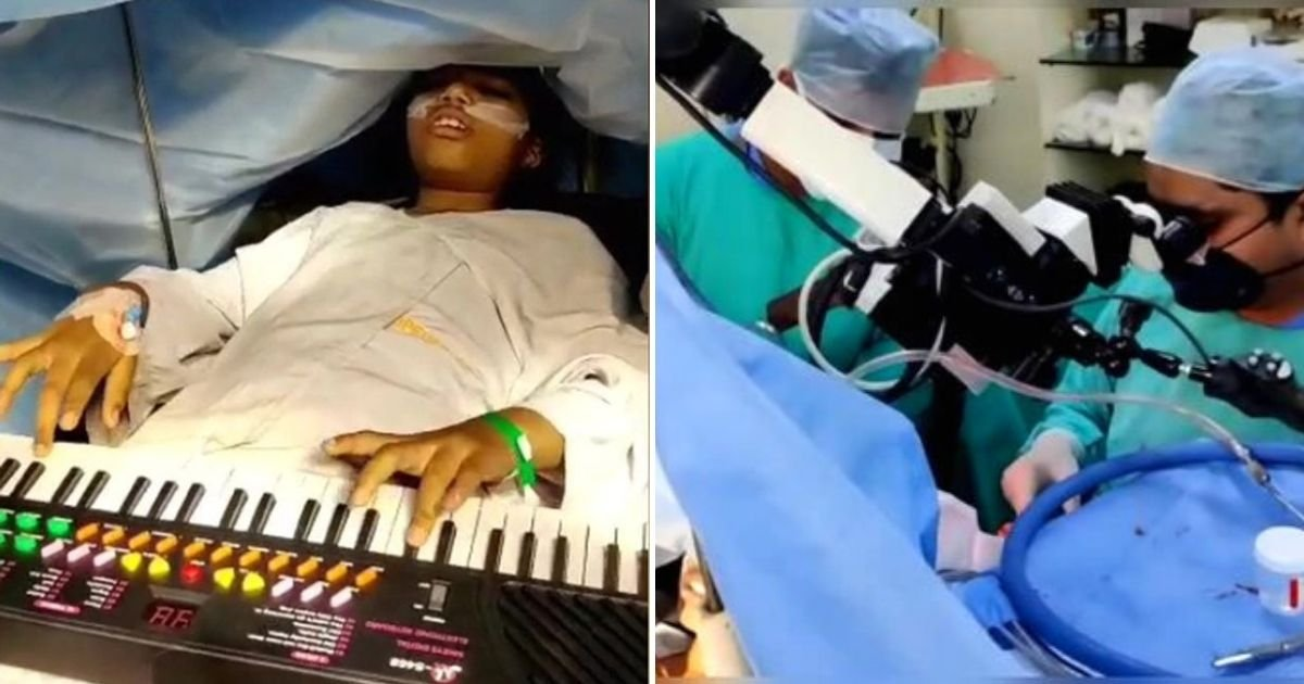 piano4.jpg?resize=1200,630 - 9-Year-Old Girl Undergoes Brain Surgery Awake As She Plays Piano And Video Games During The Procedure