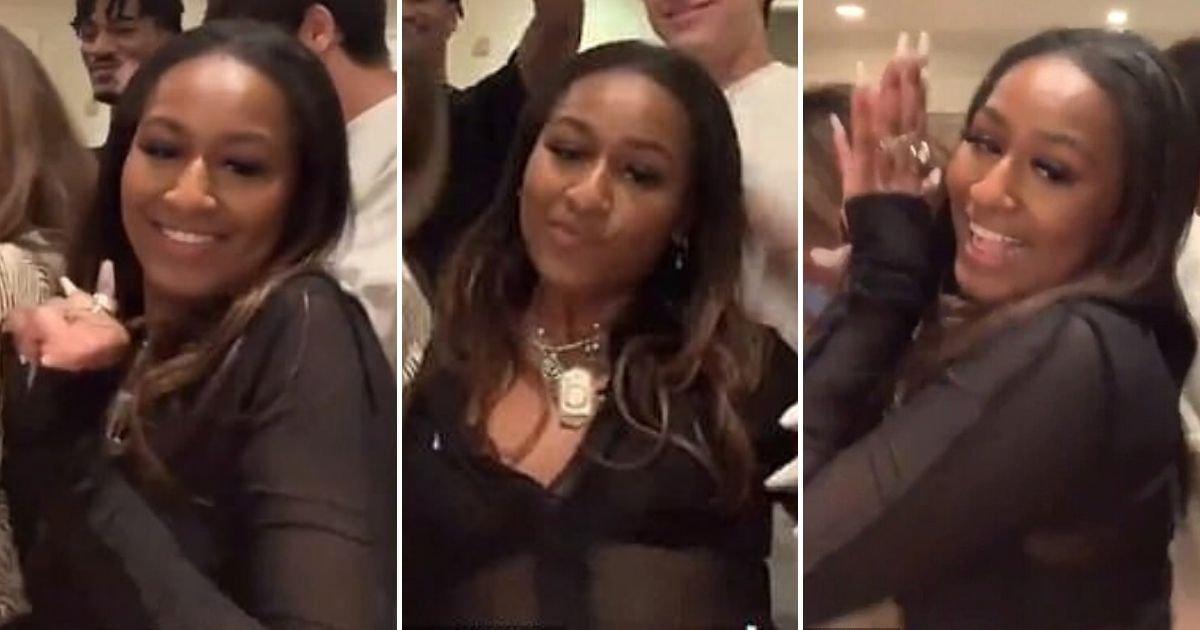 sasha6.jpg?resize=1200,630 - Sasha Obama Sings 'B***h' In TikTok Video While Dancing To The Profanity-Filled Song