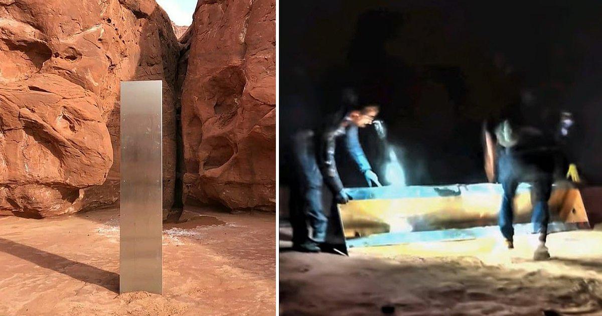 sdafsdf.jpg?resize=412,232 - The Group Who Demolished The Mysterious Utah Monolith Finally Broke Silence