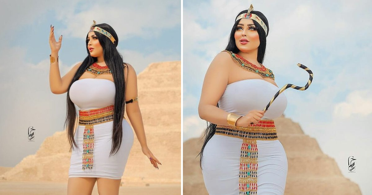 sdfsdf.jpg?resize=1200,630 - 'Hot' Photo Shoot Goes Wrong As Model & Photographer Arrested From Ancient Pyramid