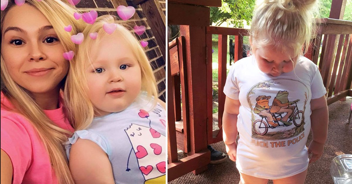 sdfsdfsf.jpg?resize=412,232 - Mum Buys 3-Year-Old A 'Cute' T-Shirt But Receives A 'NSFW' Labelled One Instead