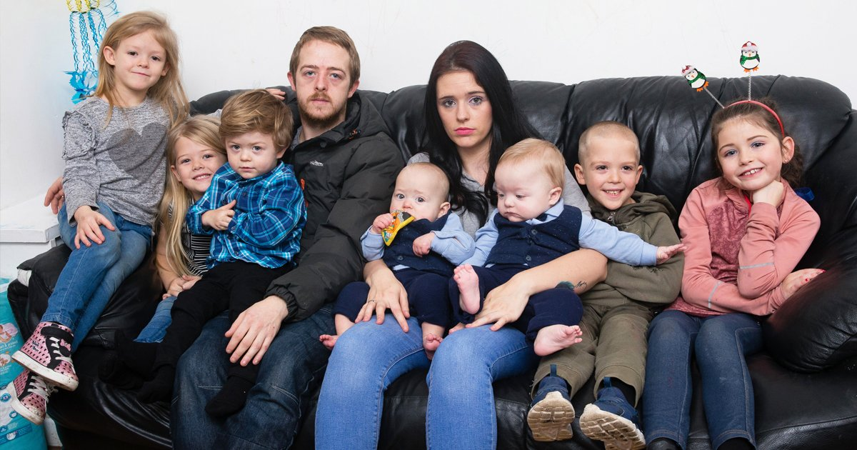 sgsgs.jpg?resize=1200,630 - Unemployed Couple With 7 Kids Launch GoFundMe For Holiday Gifts