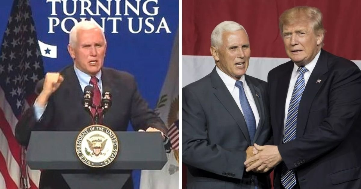 untitled design 1 17.jpg?resize=1200,630 - 'I'll Make You A Promise!' Mike Pence Vows To 'Keep Fighting' The Election Results