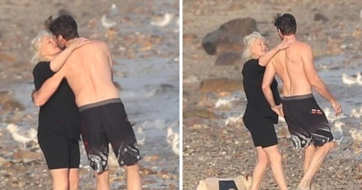 untitled design 1 19.jpg?resize=1200,630 - Hugh Jackman And Deborra-Lee Furness Share A Passionate Kiss As They Go For A Swim