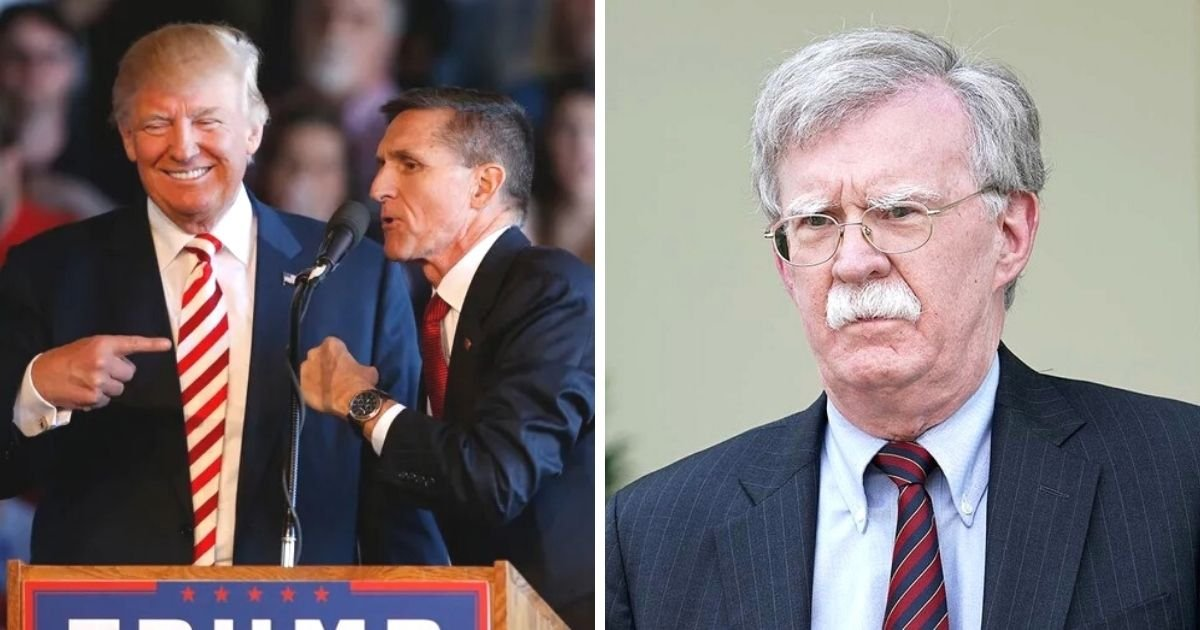 untitled design 11 4.jpg?resize=1200,630 - Trump Mocks Former National Security Advisor John Bolton Over His Reaction To General Flynn's Martial Law Comments