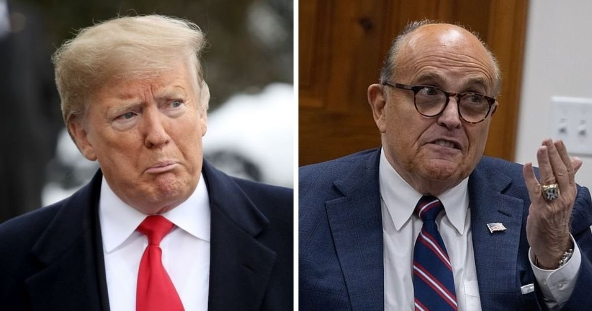 untitled design 13.jpg?resize=1200,630 - Donald Trump's Lawyer Rudy Giuliani Has Been Hospitalized
