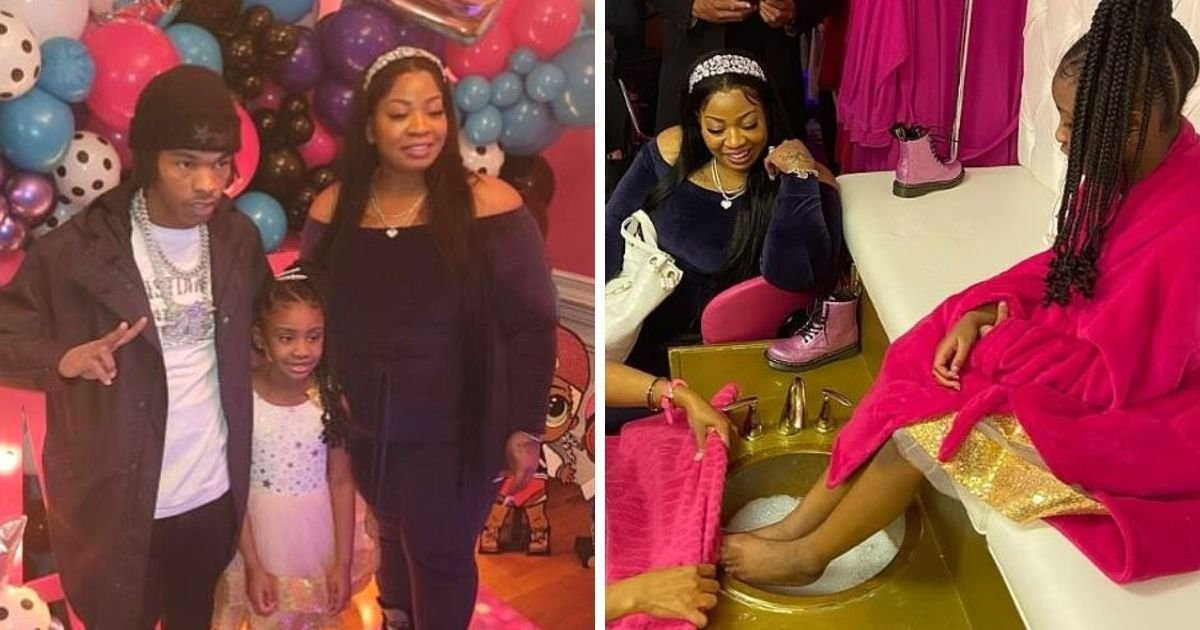 untitled design 15 1.jpg?resize=1200,630 - George Floyd's Daughter Celebrates 7th Birthday As Lil Baby Throws A Surprise Party
