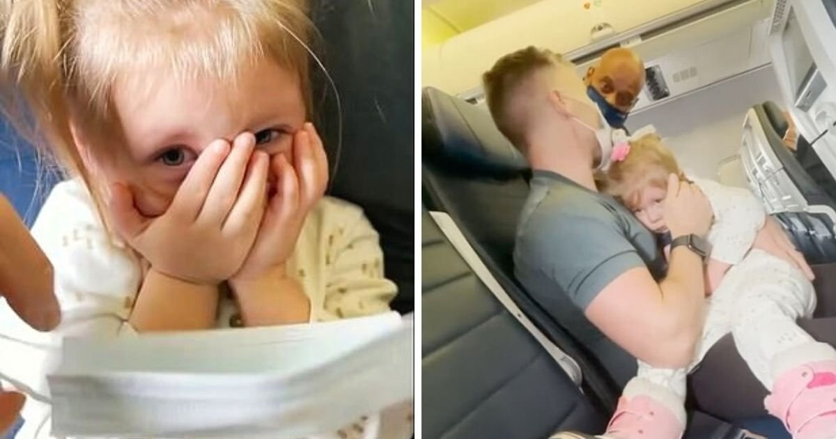 untitled design 2 11.jpg?resize=1200,630 - Family Kicked Off Plane After 2-Year-Old Girl Refuses To Wear A Face Mask