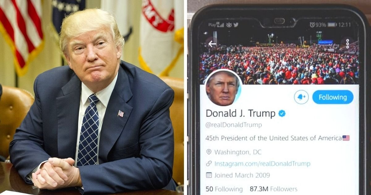 untitled design 20.jpg?resize=1200,630 - Trump's Twitter Was Reportedly Hacked Using A Simple Password