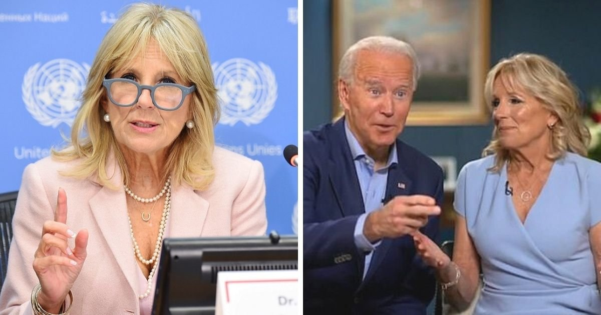 untitled design 21.jpg?resize=412,232 - Jill Biden Hits Back At Critics Who Mocked Her Doctorate And Told Her To Drop Her 'Dr' Title