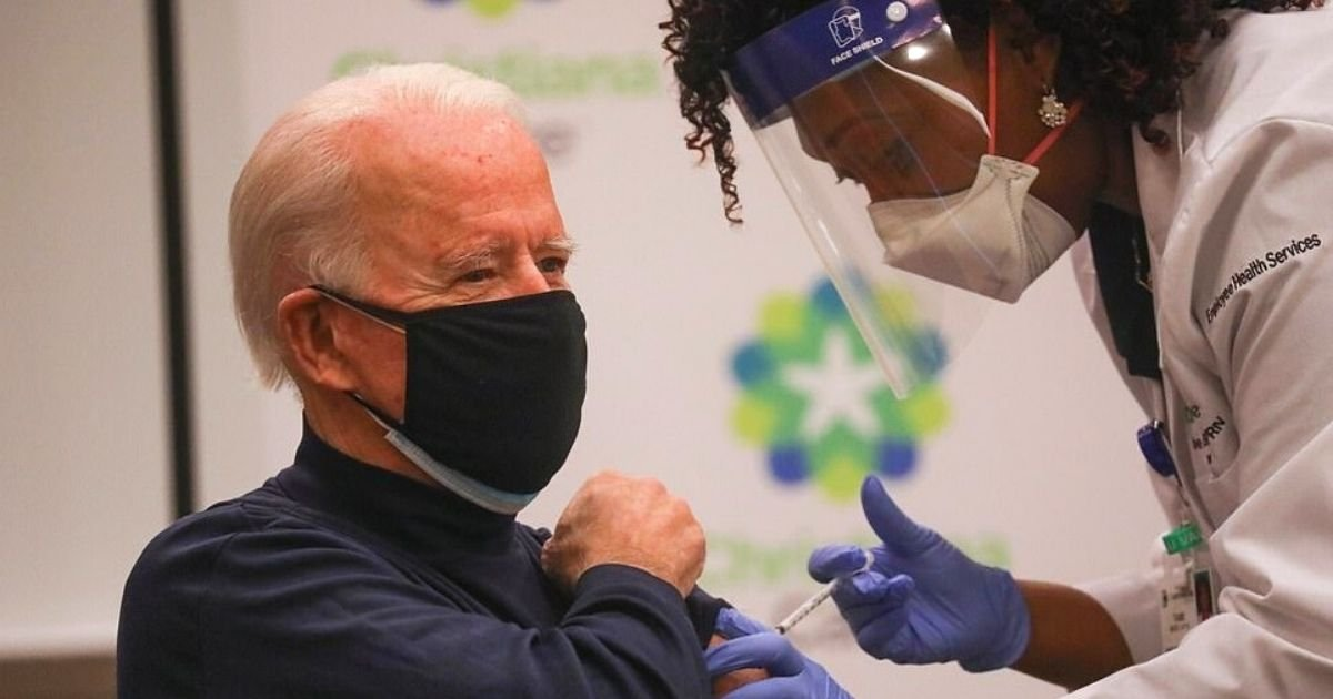 untitled design 22.jpg?resize=1200,630 - Joe Biden Says 'There's Nothing To Worry About' As He Receives Vaccine In Front Of Cameras