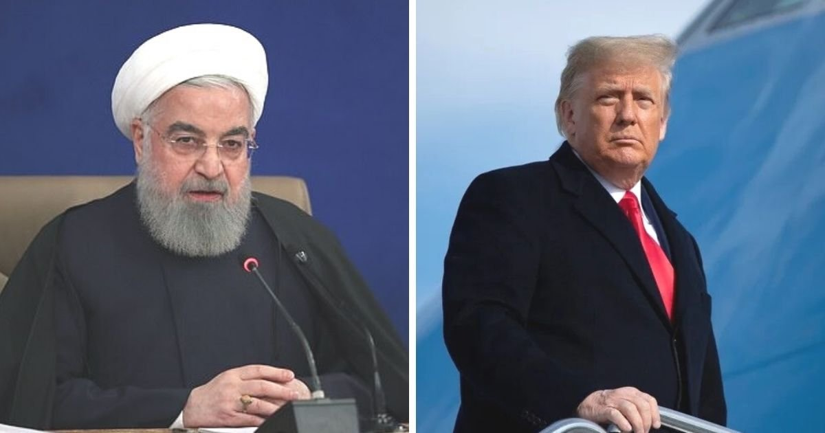 untitled design 7 4.jpg?resize=1200,630 - Iranian President Says He's 'Happy About Trump Leaving' Office