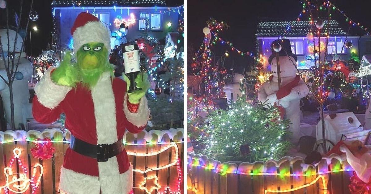 untitled design 8 3.jpg?resize=1200,630 - Father Forced To Turn Off Christmas Display After Neighbors Harass His Daughter With Autism
