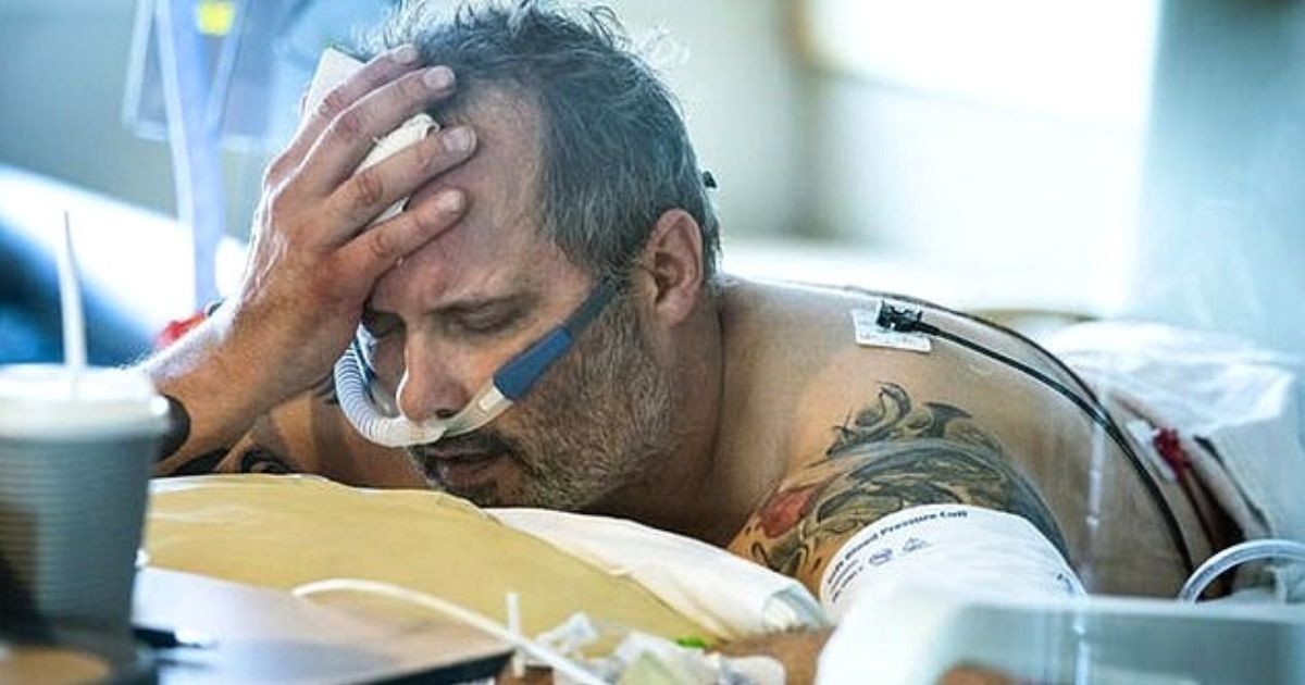 wright5.jpg?resize=1200,630 - Heartbreaking Photo Shows 54-Year-Old Veteran Struggling To Breathe Before He Died In A Hospital