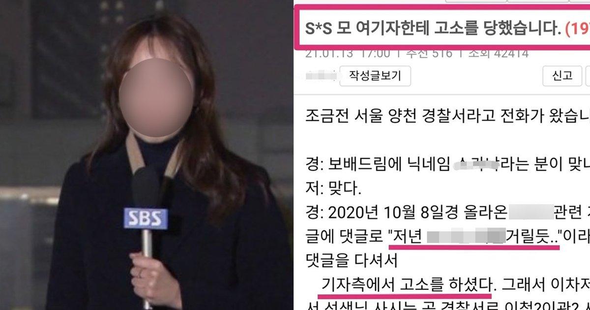 1 88.jpg?resize=412,275 - SBS 기자한테 '모욕죄'로 고소당한 '커뮤니티' 유저들 근황