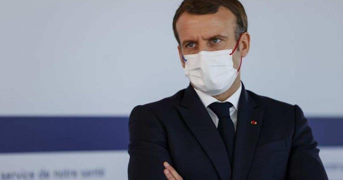 1 mac.jpg?resize=1200,630 - Emmanuel Macron était très en colère après la fuite de Matignon à propos d'un reconfinement