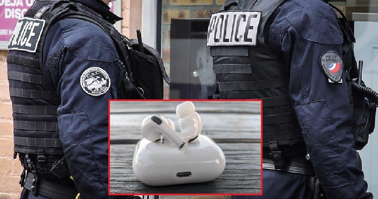 10 airpods.jpg?resize=1200,630 - Quatre policiers sont accusés d'avoir volé des AirPods lors d'un d'un contrôle d'identité