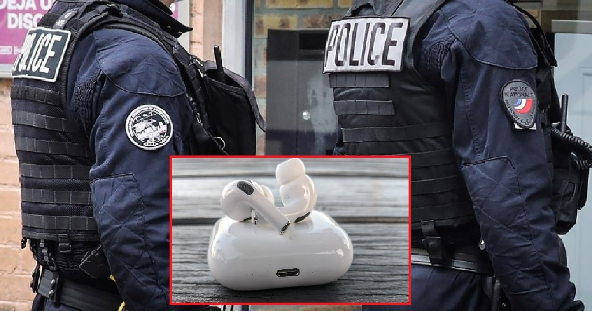 10 airpods.jpg?resize=574,582 - Quatre policiers sont accusés d'avoir volé des AirPods lors d'un d'un contrôle d'identité