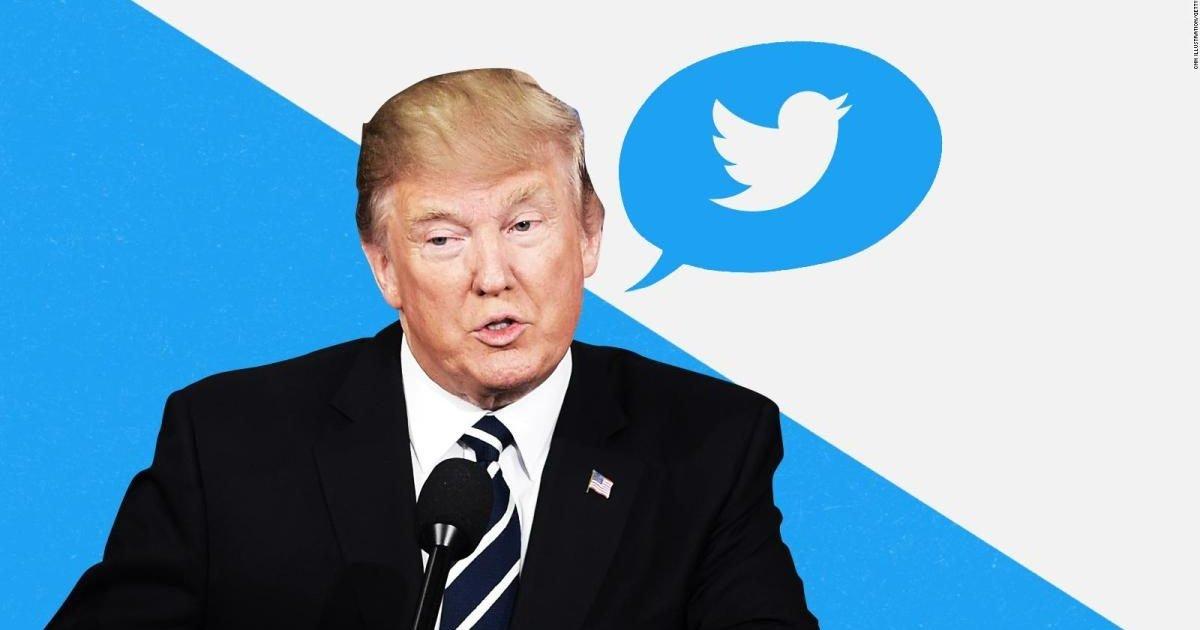 180219165402 20180219 trump twitter composite generic full 169 e1611208785811.jpg?resize=1200,630 - Il y aurait 73% de fake news en moins sur Twitter depuis la suspension de Trump