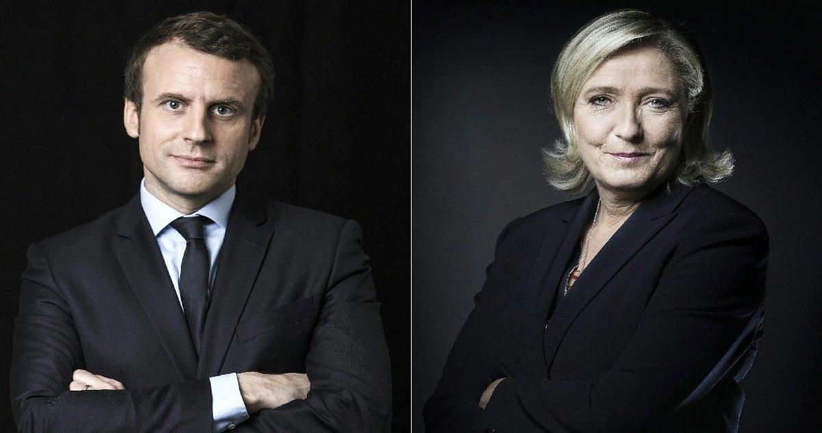 2 mlp em.jpg?resize=1200,630 - Présidentielle 2022: un sondage place Marine Le Pen en tête au premier tour