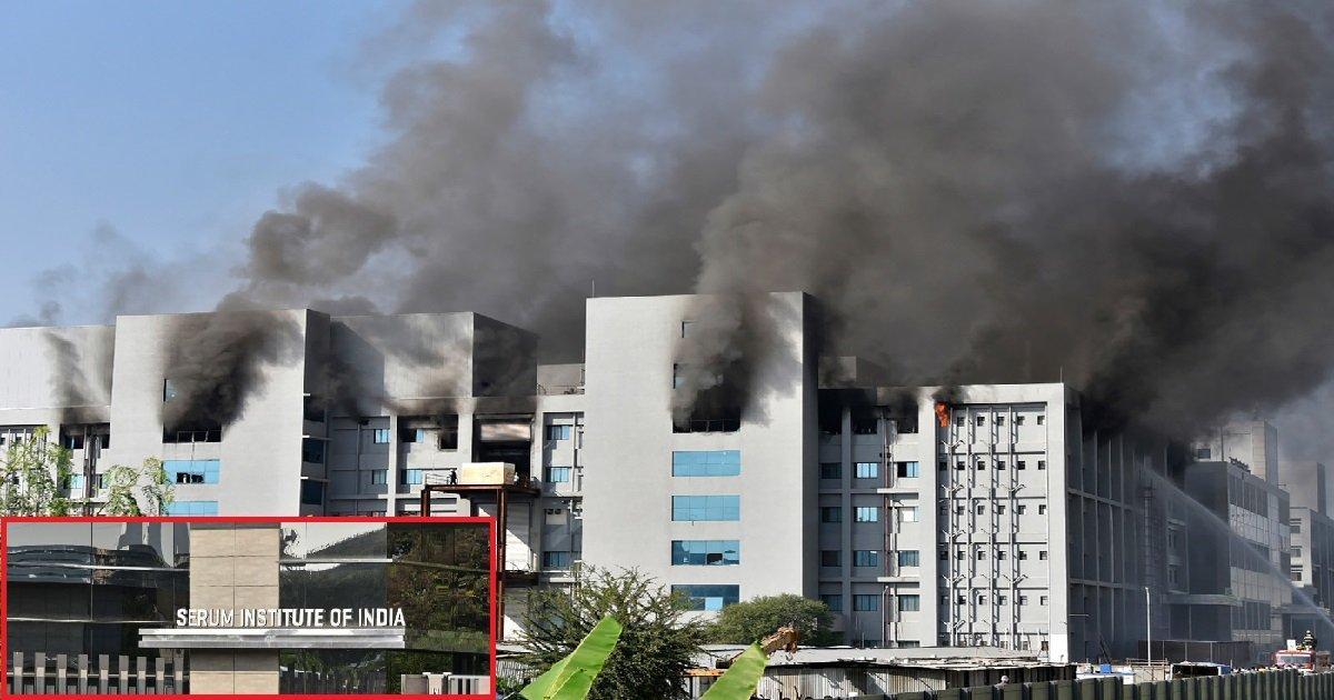3 inde1.jpg?resize=412,232 - Covid-19: un incendie est en cours dans la plus grande usine de vaccins au monde
