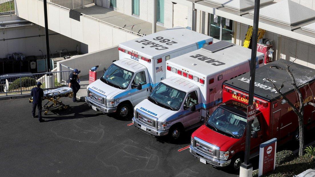 En Los Ángeles aconsejan a las ambulancias que no lleven a hospitales a  pacientes sin opciones de sobrevivir - RT