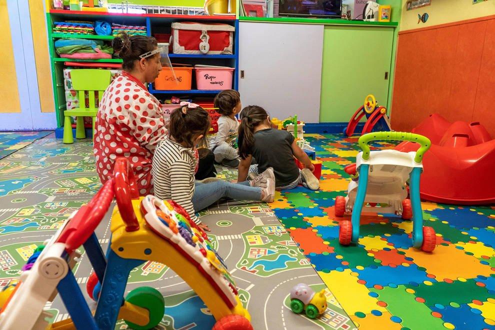 Desescalada en las escuelas infantiles: Las guarderías y casas amigas  podrán abrir en Navarra con un aforo de dos tercios | Noticias de Navarra  en Diario de Navarra