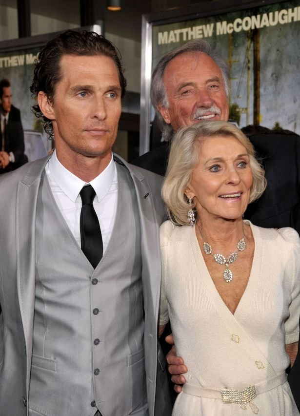 Matthew McConaughey says his dad died