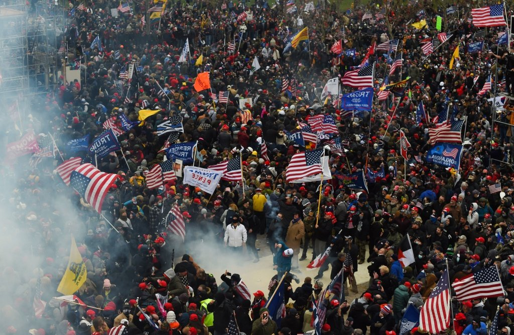 Special Coverage Of Violent Protests At US Capitol | 89.3 KPCC