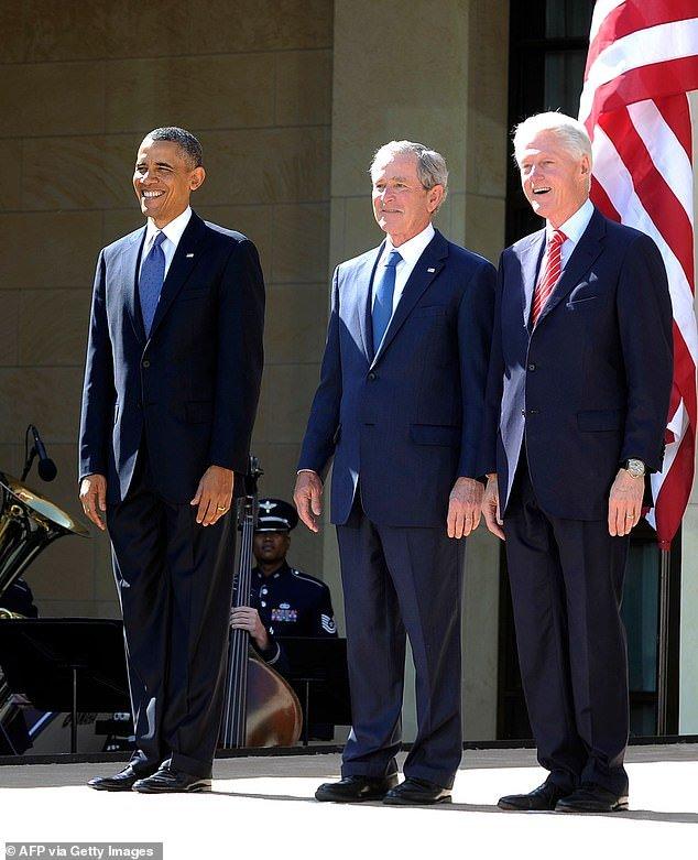Joe Biden to lay wreath at Arlington with Clinton, Bush and Obama   Daily Mail Online