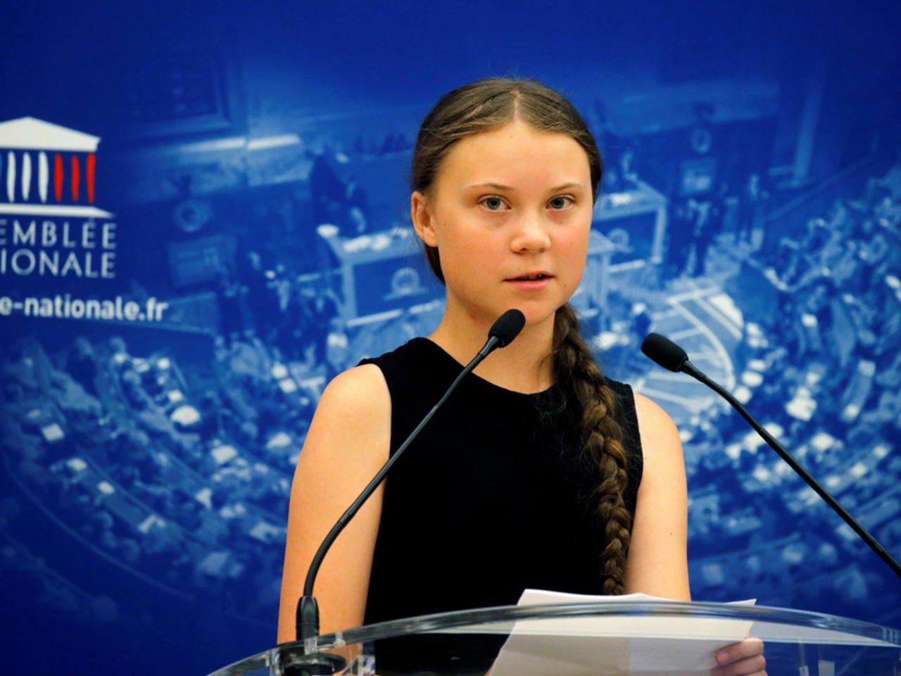 "Greta Thunberg responde a sus críticos en la Asamblea francesa: ""¡escuchen a la ciencia!"""