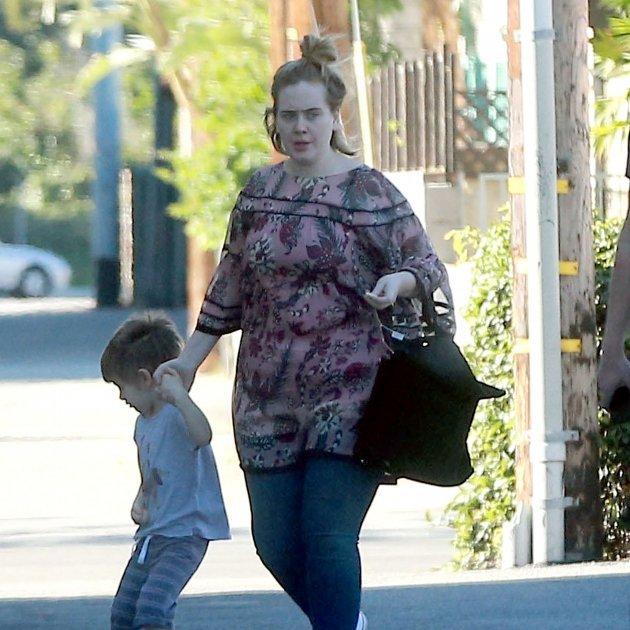 Adele ya no es así: cuelga una foto espectacularmente más delgada
