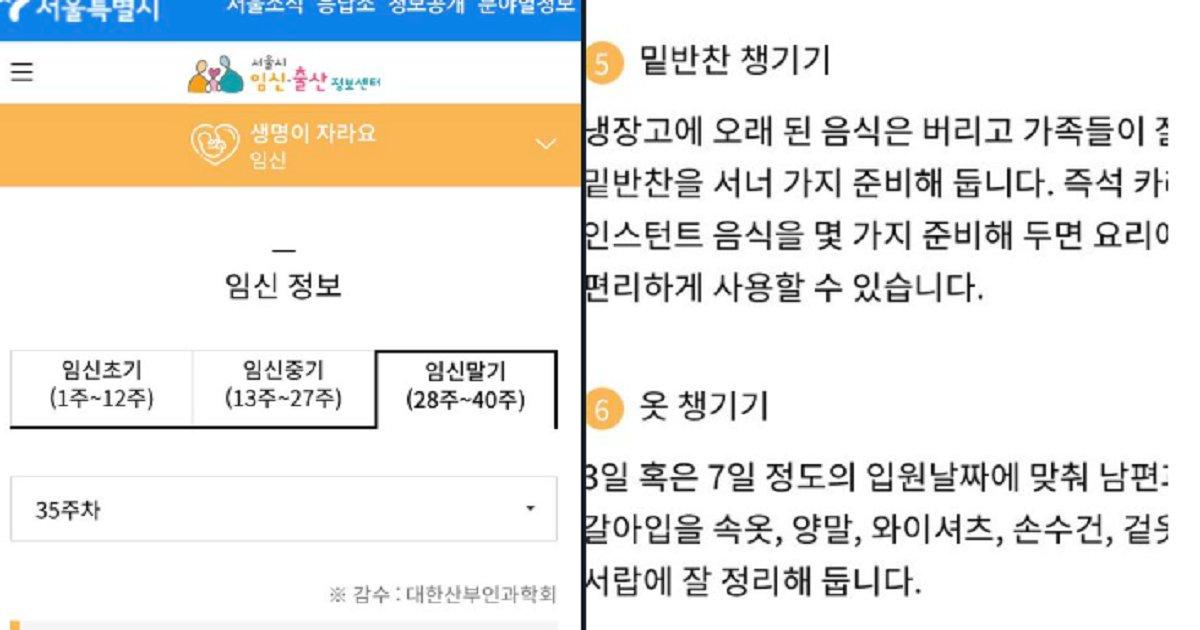 "55555 1.png?resize=1200,630 - ""만삭 몸으로??"" 지금 난리난 서울시에서 제공하는 임신 말기 '임산부' 꿀팁"