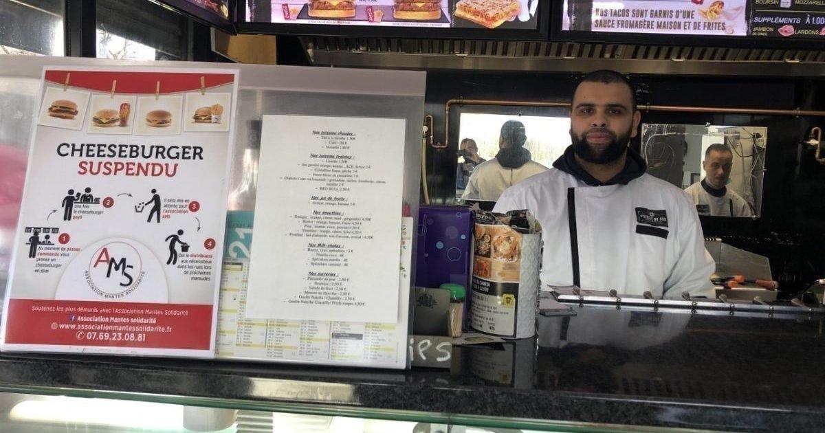 actu fr e1611945354812.jpg?resize=1200,630 - Yvelines : Un restaurateur offre des repas gratuits aux étudiants dans le besoin