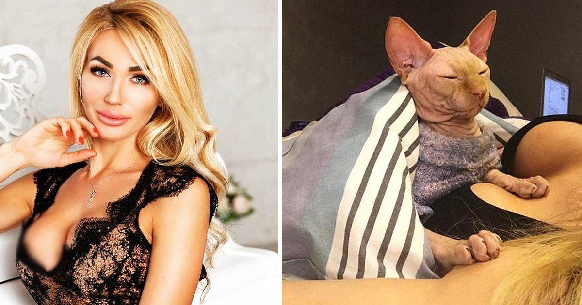 adggggg.jpg?resize=412,232 - Outrage Sparks On Social Media As 'Instagram Star' Tattoos Her Pet Cat