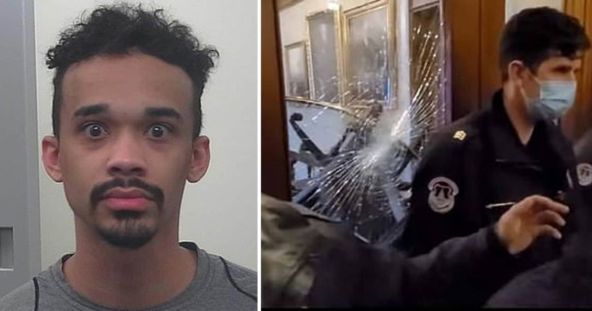 afdfdf.jpg?resize=412,232 - Notoriously Armed BLM Activist Who Egged MAGA Mob In DC Riots Freed On Bail