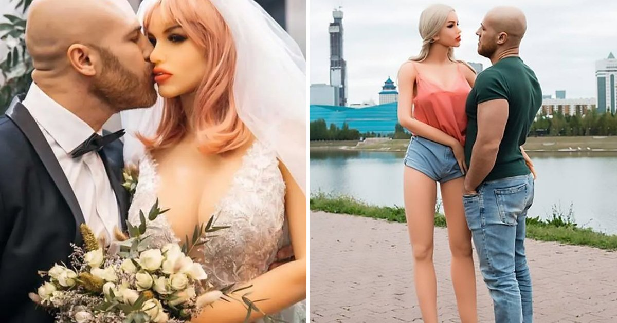 agahah.jpg?resize=1200,630 - Bodybuilder Who Married S** Doll Says She's 'Tragically' Broken