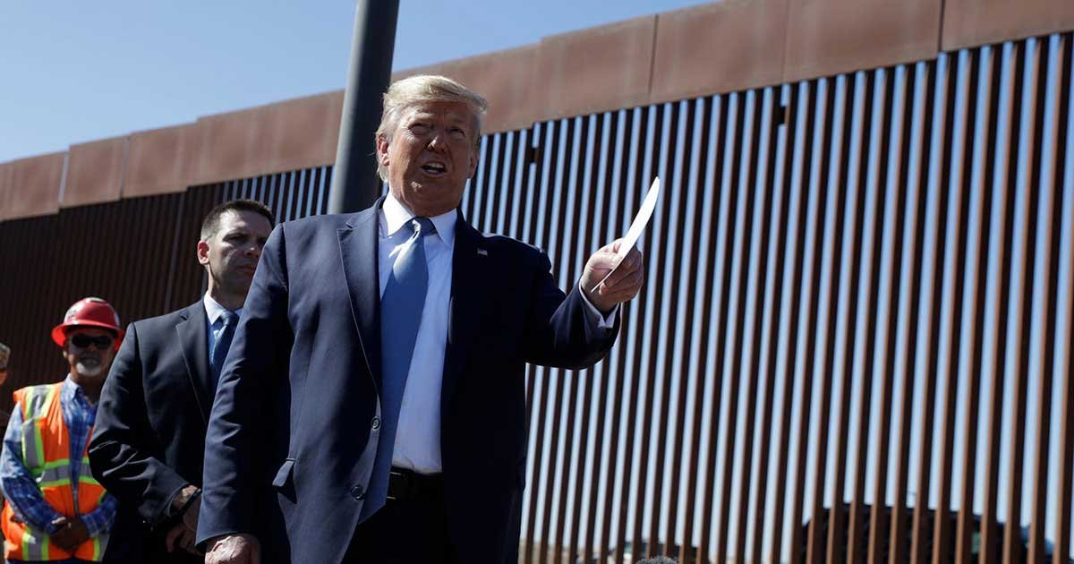 ap 8.jpg?resize=1200,630 - Trump To Visit Lauded US-Mexico Border This Week