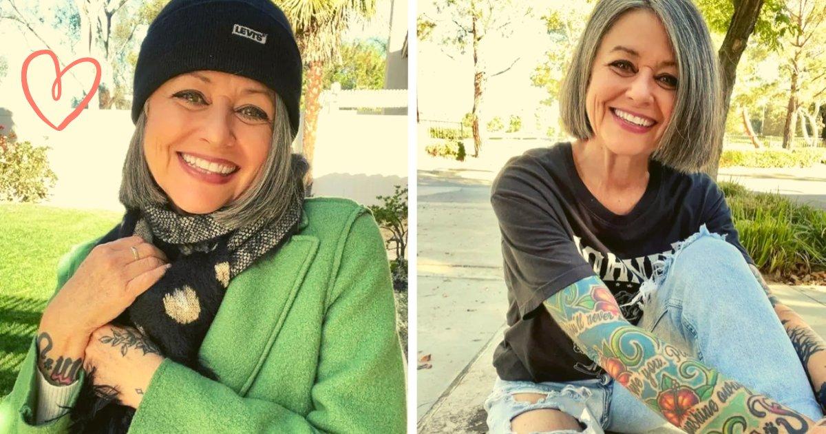 articulosportadas 1 37.png?resize=1200,630 - Mujer Es Criticada Por Vestirse Y Tatuarse Como Adolescente A Sus 57 Años