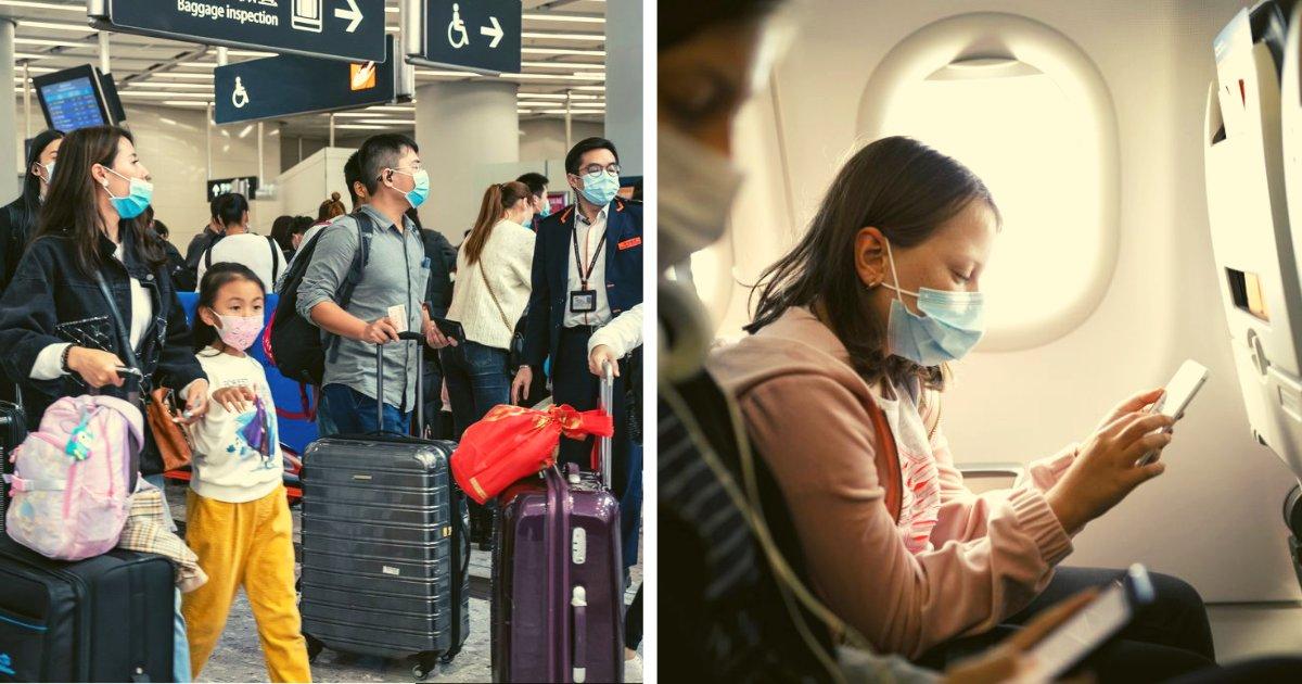 articulosportadas 1 43.png?resize=1200,630 - Mujer Es Detenida Por Viajar En Avión Ocultando Que Estaba Contagiada Con El Virus