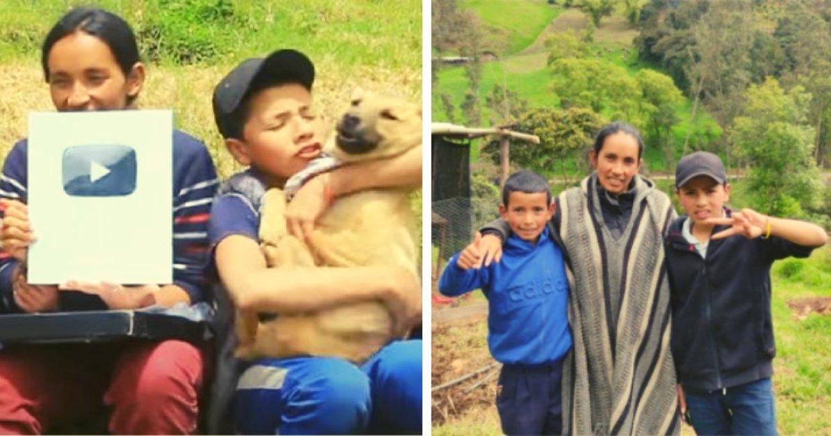articulosportadas 71.png?resize=412,232 - Familia De Campesinos Consiguieron Su Primera Vivienda Gracias A Su Contenido En YouTube