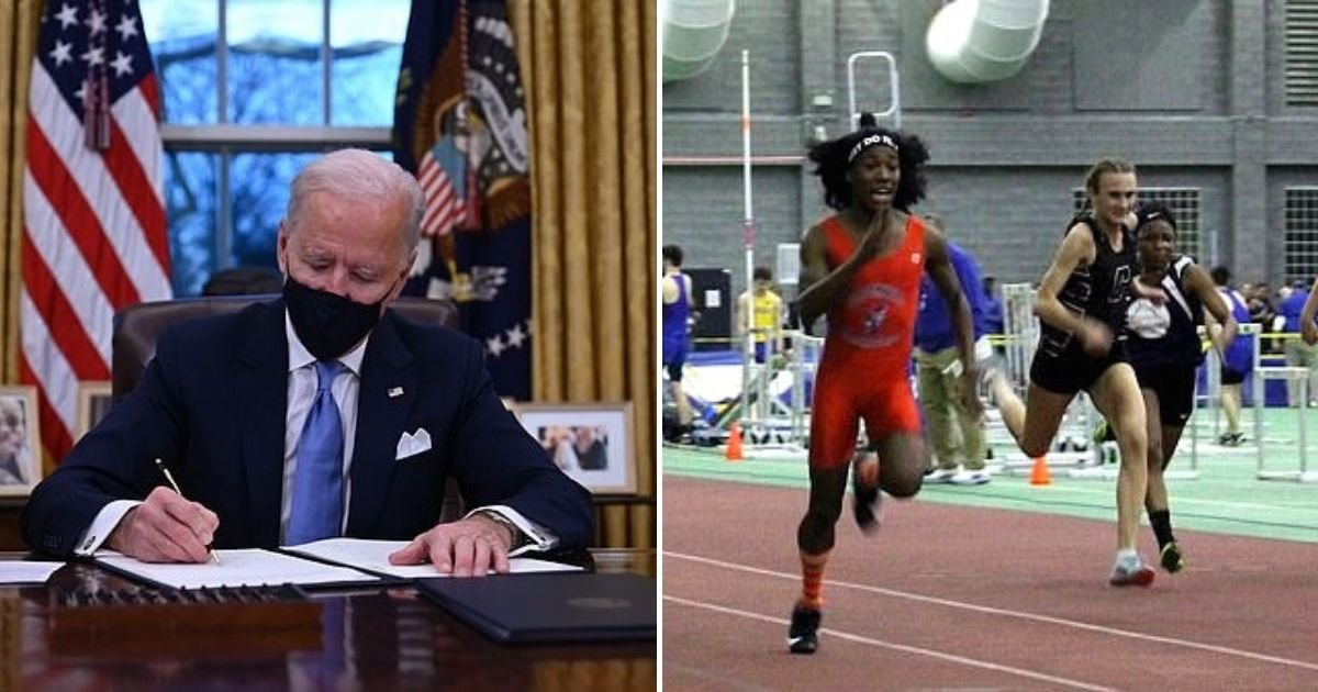 athletes6.jpg?resize=412,232 - President Joe Biden Signs Executive Order Allowing Schools To Include Trans Athletes In Girls' Sports